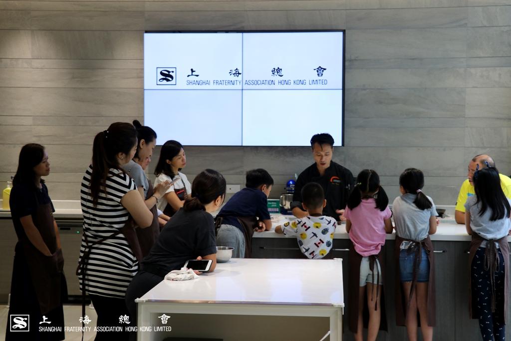 上海總會親子甜品製作由專業廚師帶領