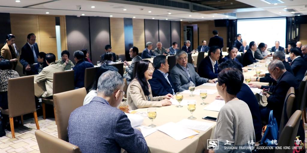 上海總會第二十一屆理監事會正式接任運作。