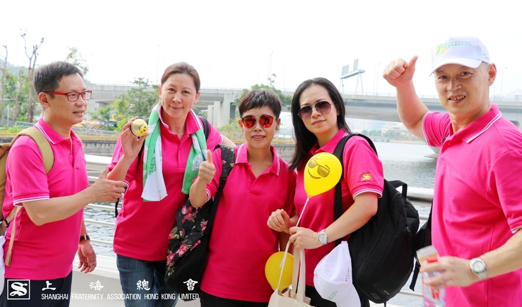 上海總會會所同事合照。