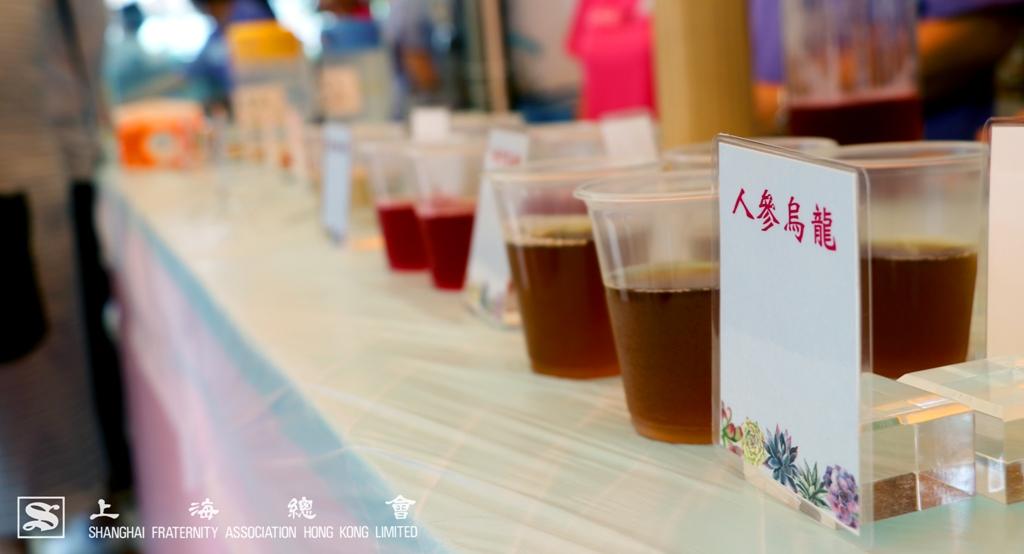 活動場地為嘉賓準備不同的消暑健康飲品