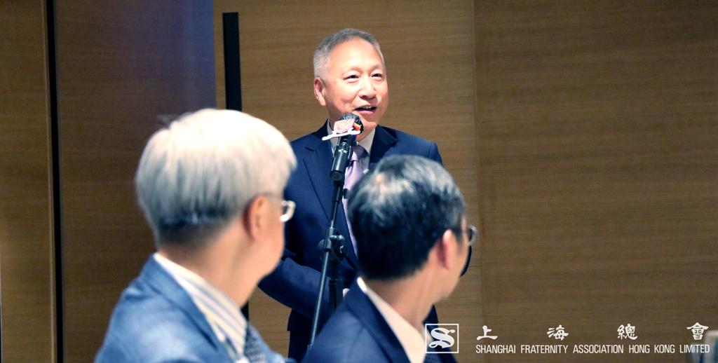 上海總會李德麟理事長代表致辭