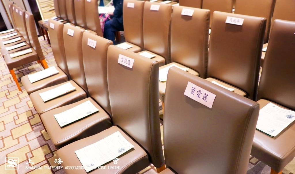 簡單的慈善基金捐款儀式承載上海總會為善最樂的精神。