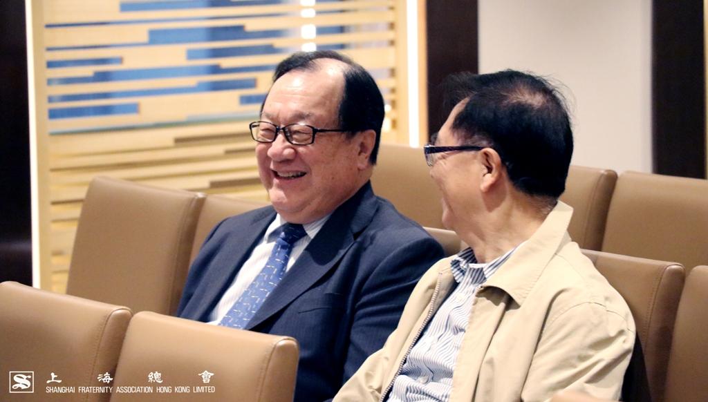 張浩然副理事長與嚴元浩常務理事。