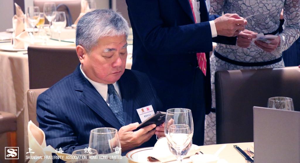 詹傑美常務理事聯絡其他出席晚宴的嘉賓