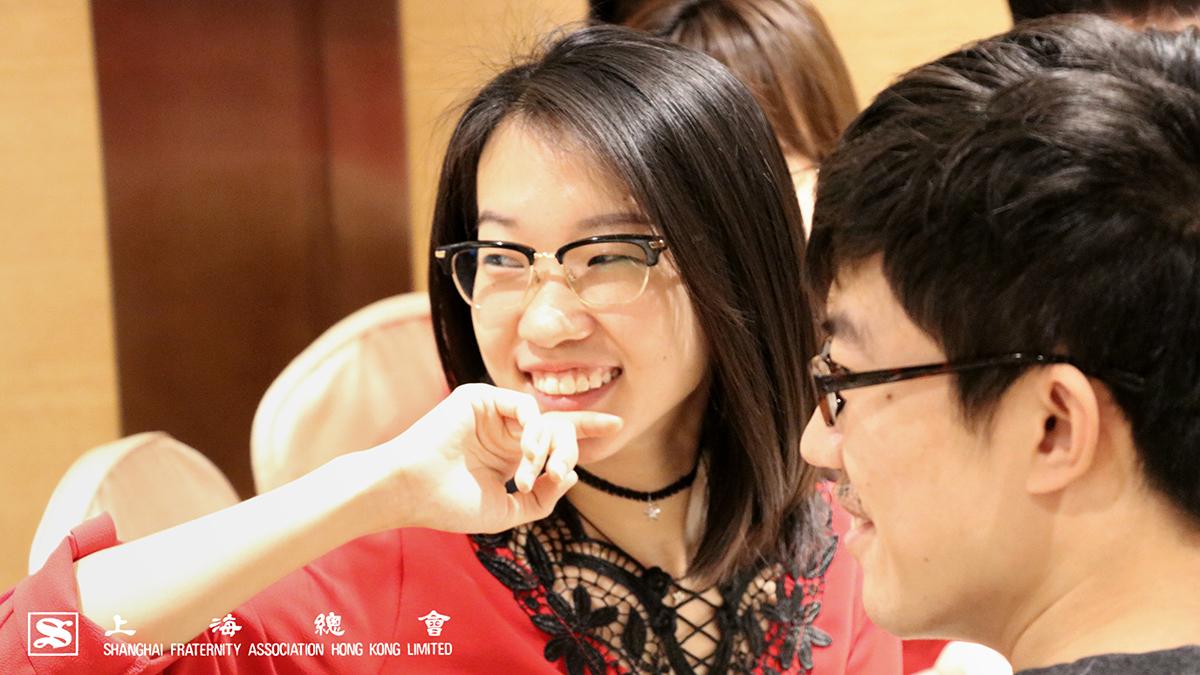 上海總會的感覺、會心微笑