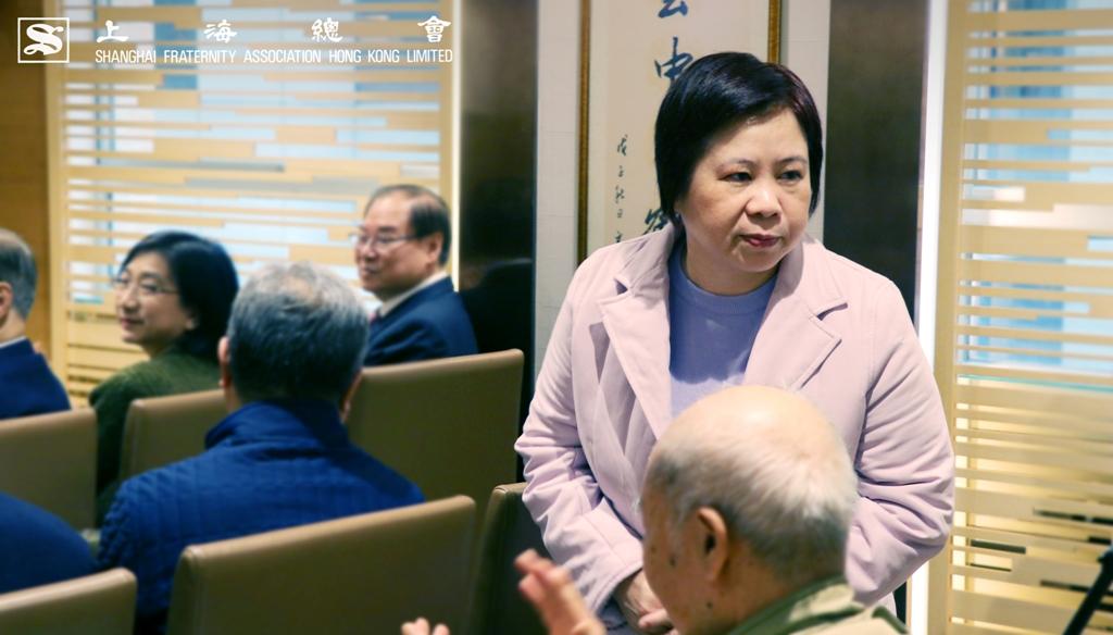 鄰舍輔導會何文田護理安老院院長李玉燕女士。