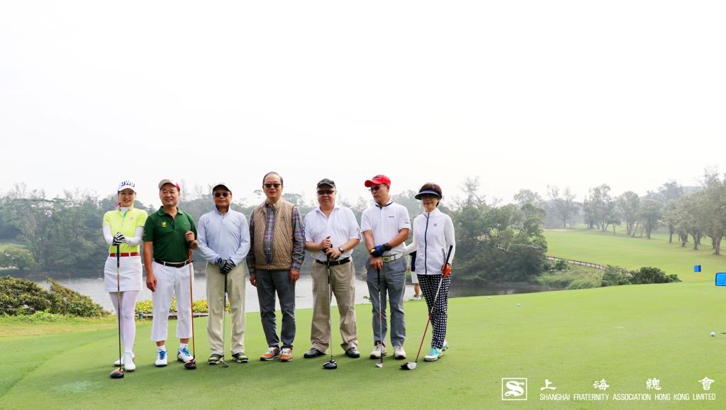 上海總會王緒亮監事長特別到場參與開球禮儀式,陪同香港蘇浙滬同鄉會及香港寧波同鄉會的嘉賓一同感受球場氣氛。