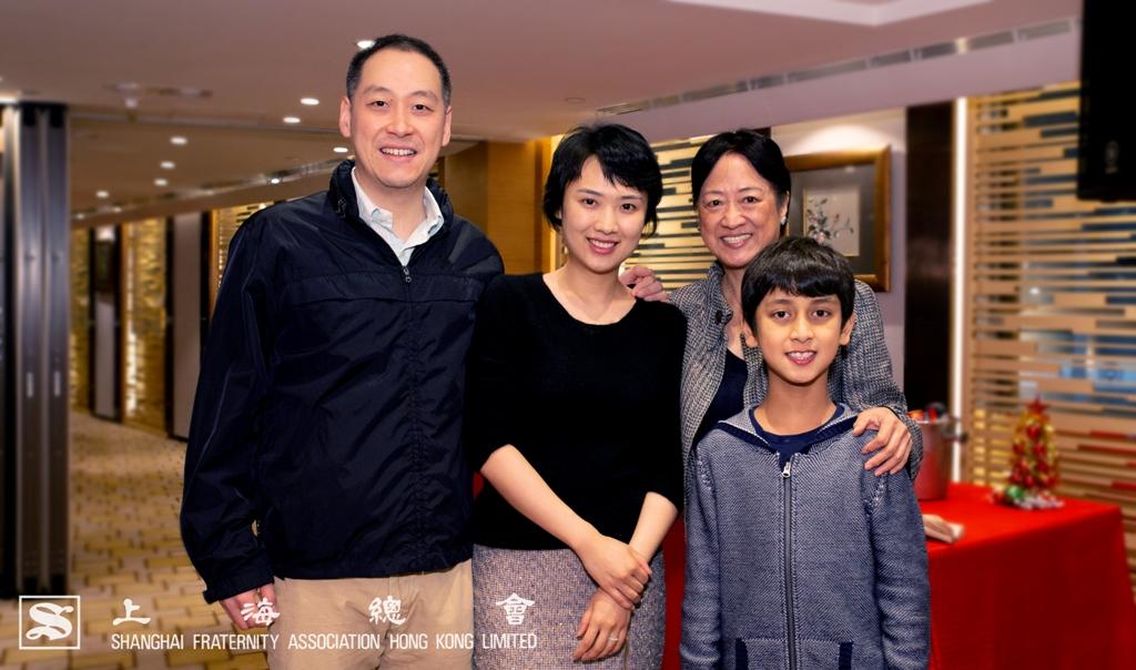 李惟宏常務理事家庭合照。