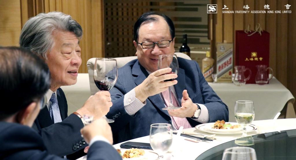 當天大家亦恭賀張浩然副理事長當選為,蘇浙滬同鄉會之下任主席。