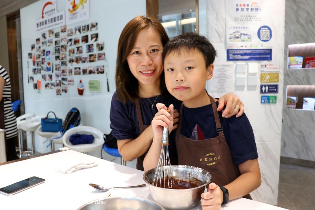 參與活動之上海總會會員親子組