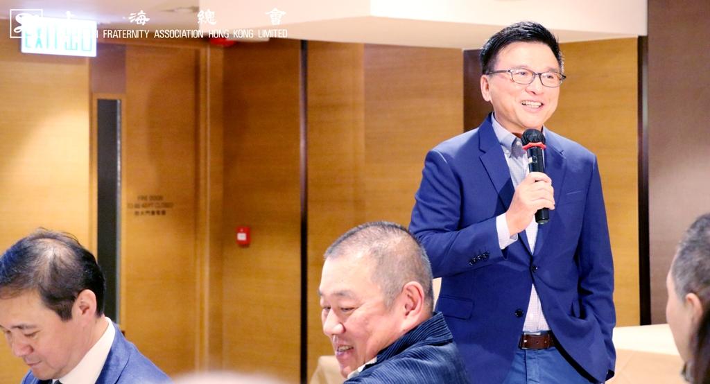 上海總會之陳家強教授「虛擬銀行與金融科技業的未來」講座。