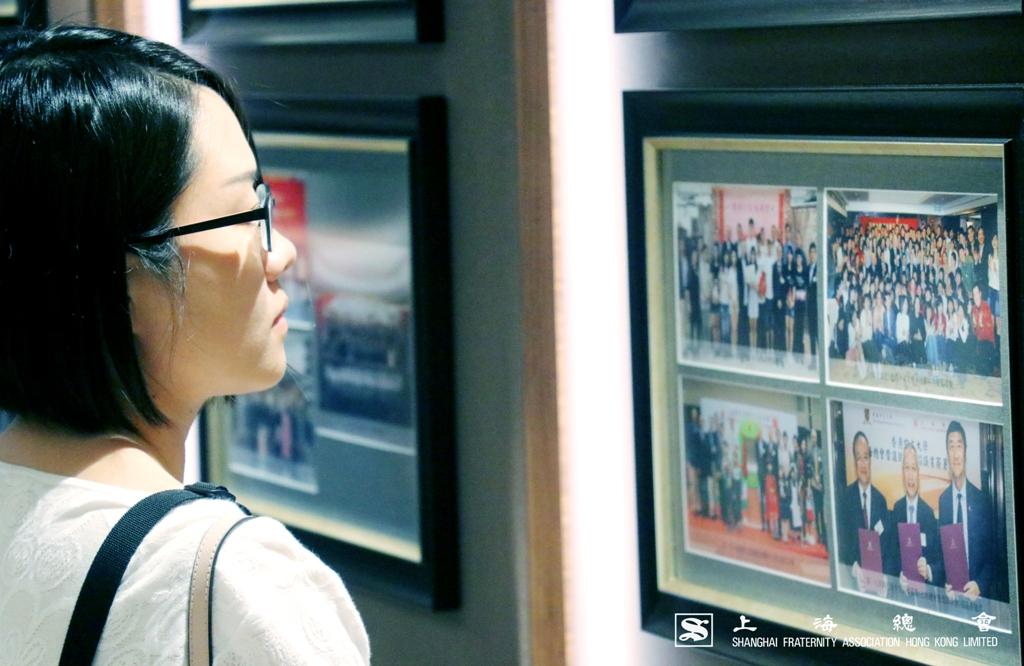 上海總會會所歷史展覽長廊記載着本會每一個慈善捐贈