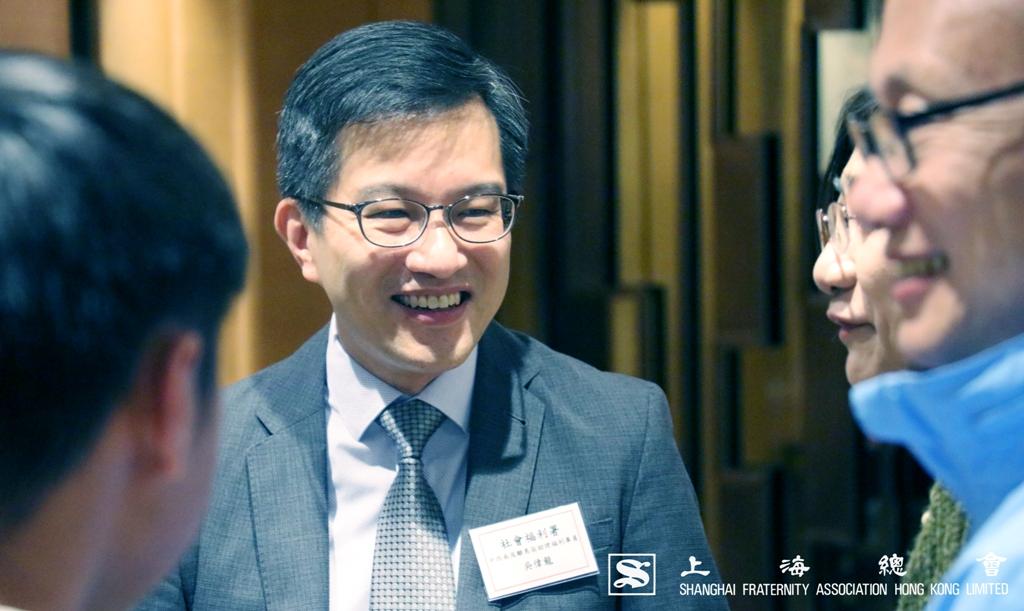 吳偉龍先生也感受到上海總會的用心。