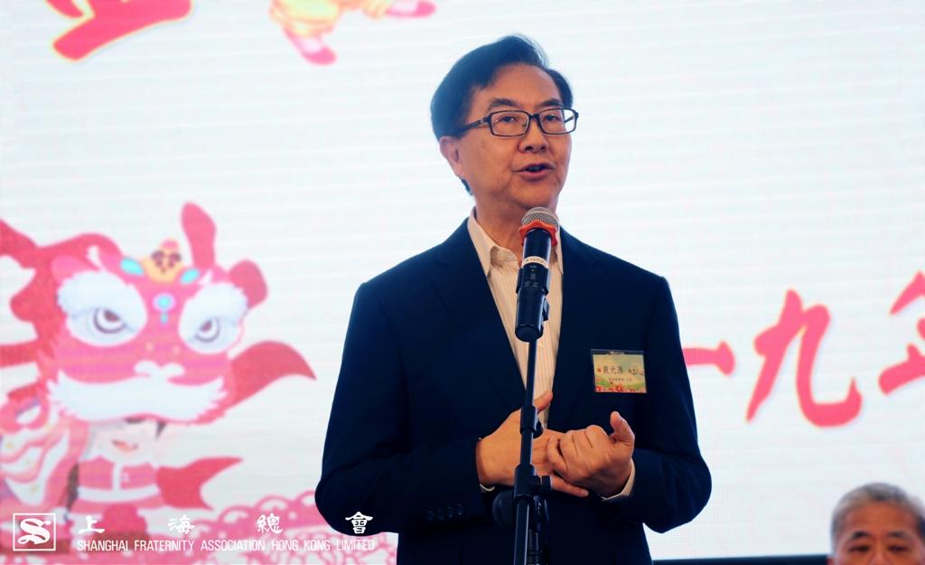 鄰舍輔導會主席嚴元浩先生致辭。