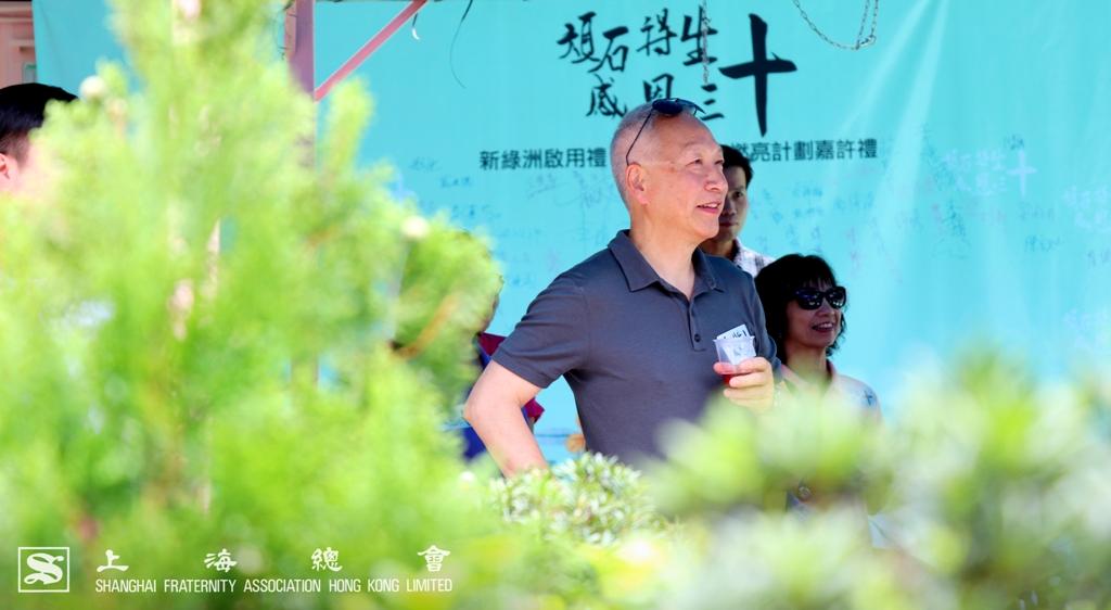 李德麟理事長繼續關心青年事務