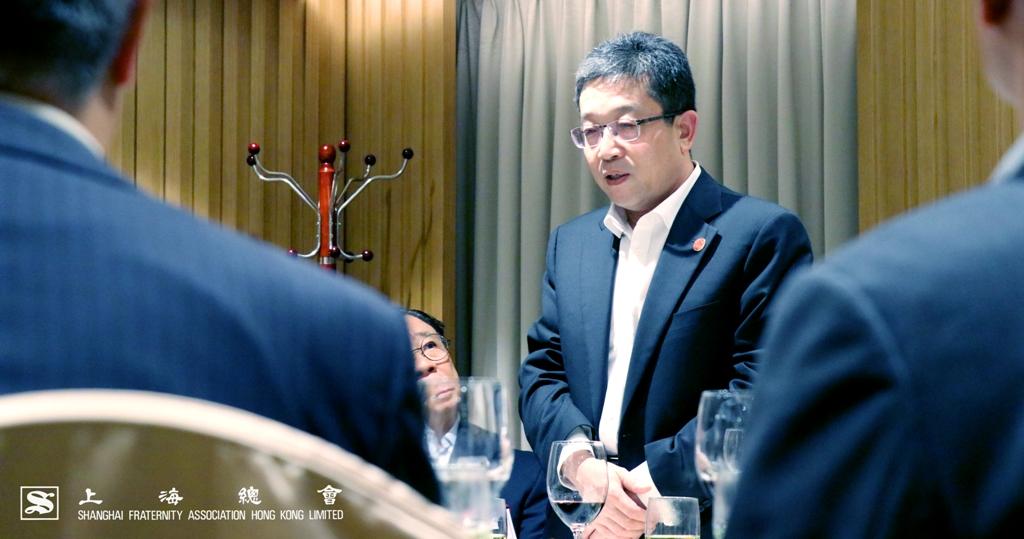 鄭部長感謝上海總會同仁的接代,期望日後可以加強合作