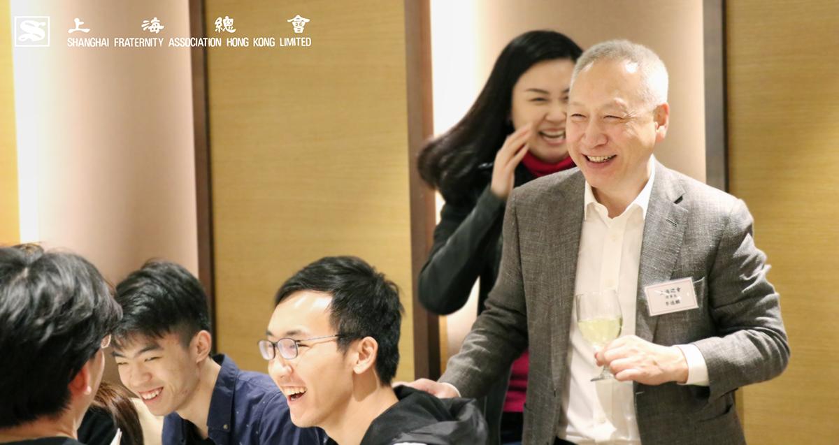 李理事長使現場氣氛熱鬧起來