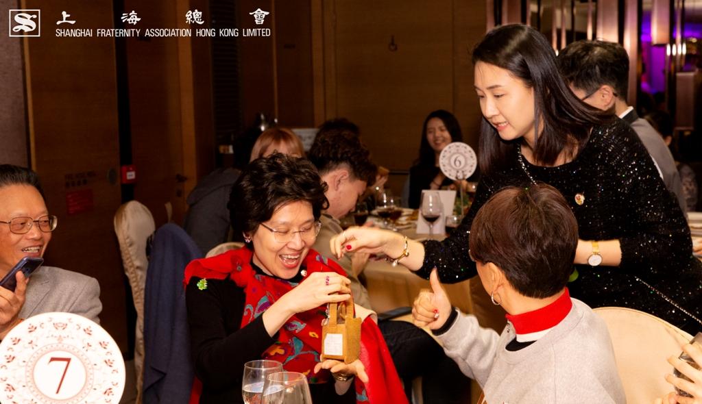 上海總會理事阮婷婷小姐對本會的宗旨十分了解,自然得獎是實至名歸。