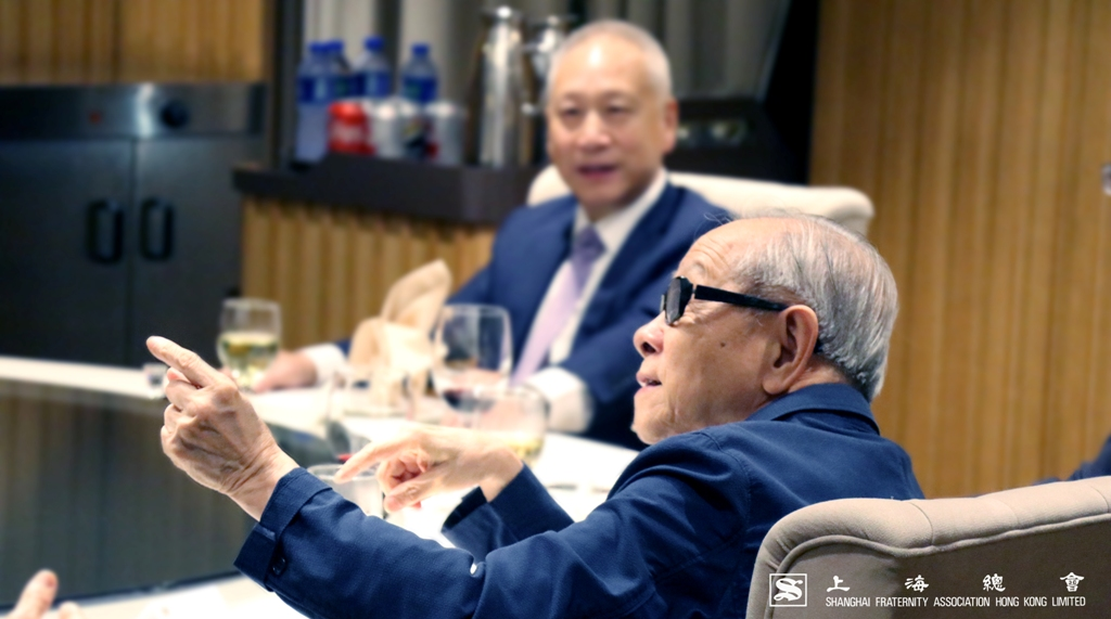 鄭仲河副理事長當日談笑風生。