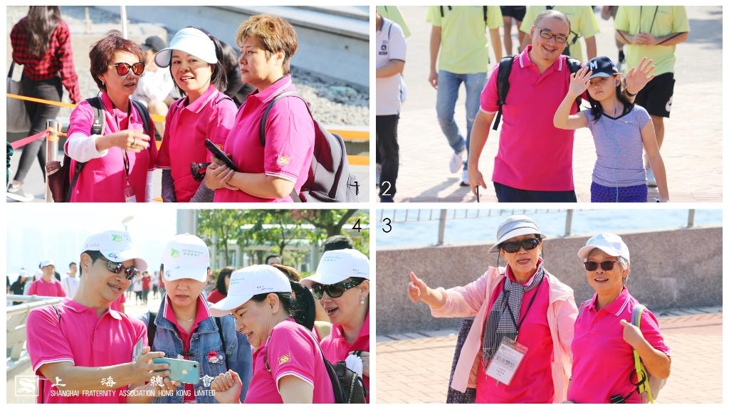 上海總會一眾理監事到場參與。 (1)楊靜理事(左一) (2)雷秉堅常務理事(左一) (3)吳寧常務理事(左一) (4)虞有成常務理事(左一)