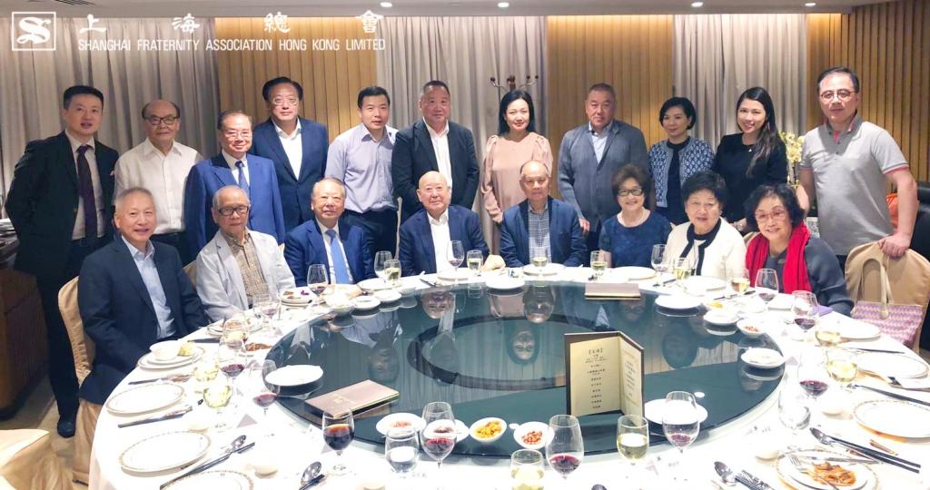 上海總會於中環會所設晚宴款待 3D 全景聲京劇電影《曹操與楊修》之各位貴賓。