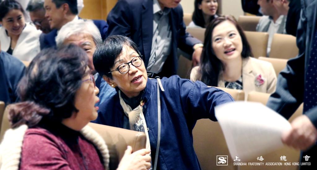 吳寧常務理事列席大會。