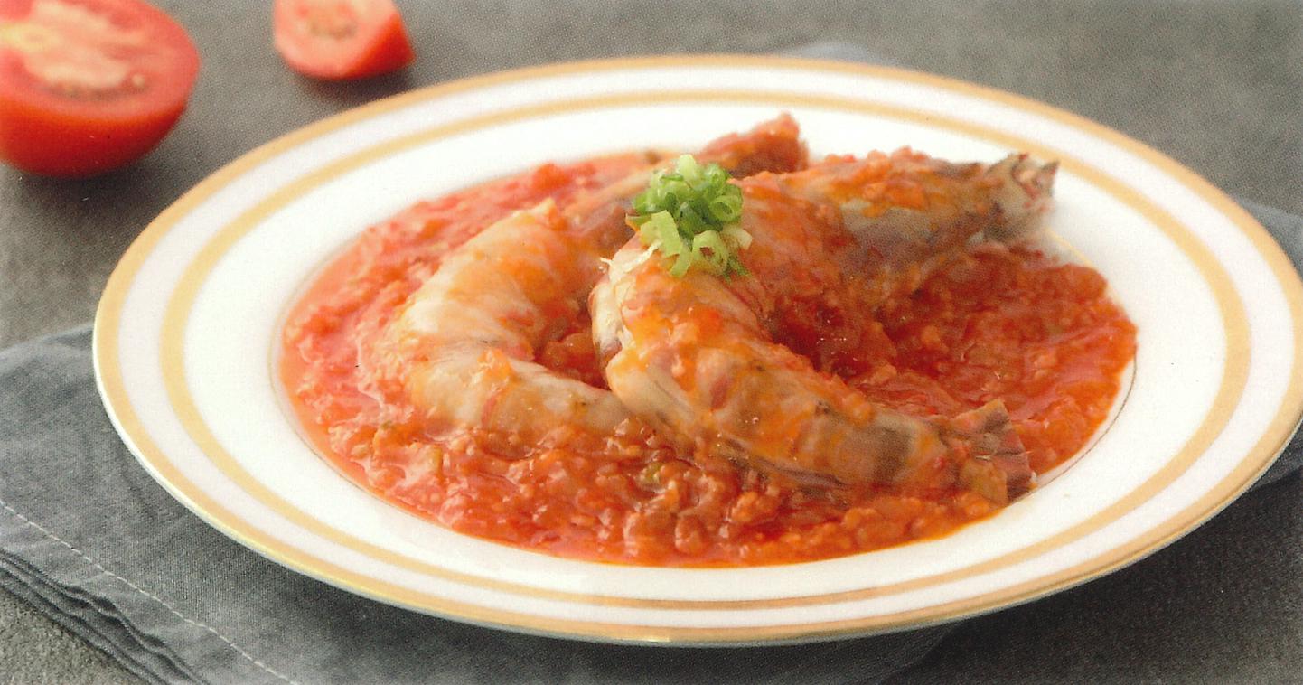 乾燒金衣大明蝦
