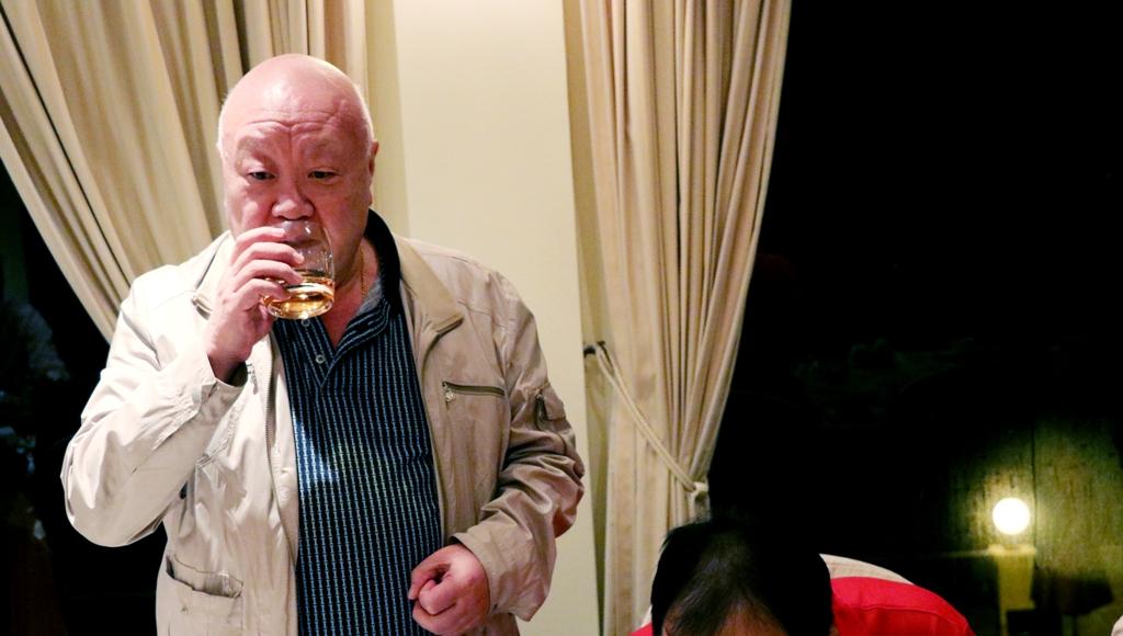 徐仲侯先生感謝各會的參與,並帶領晚宴氣氛,十分熱鬧。