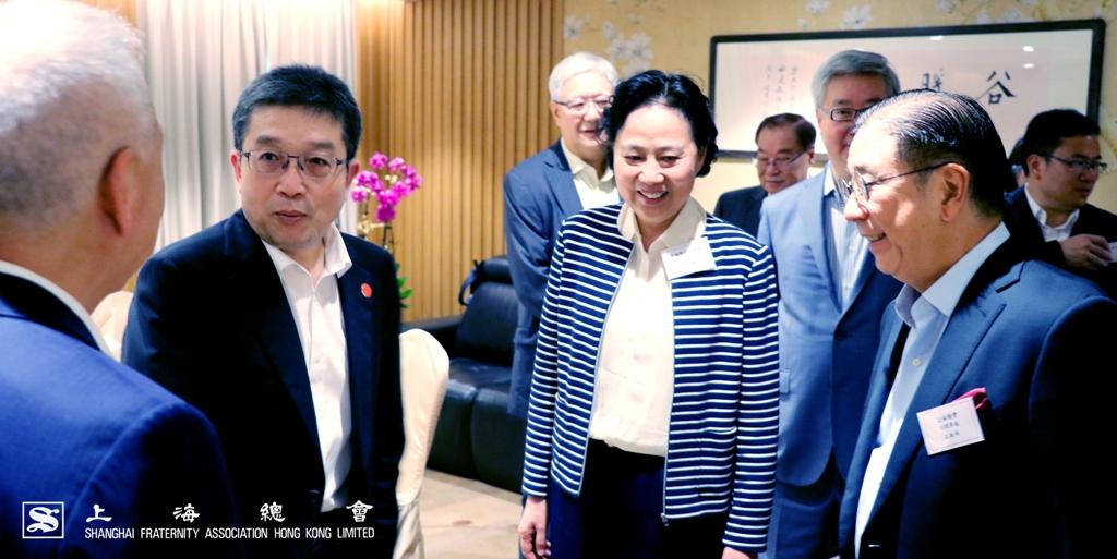 中聯辦副巡視員張麗小姐的蒞臨使上海總會深感榮幸