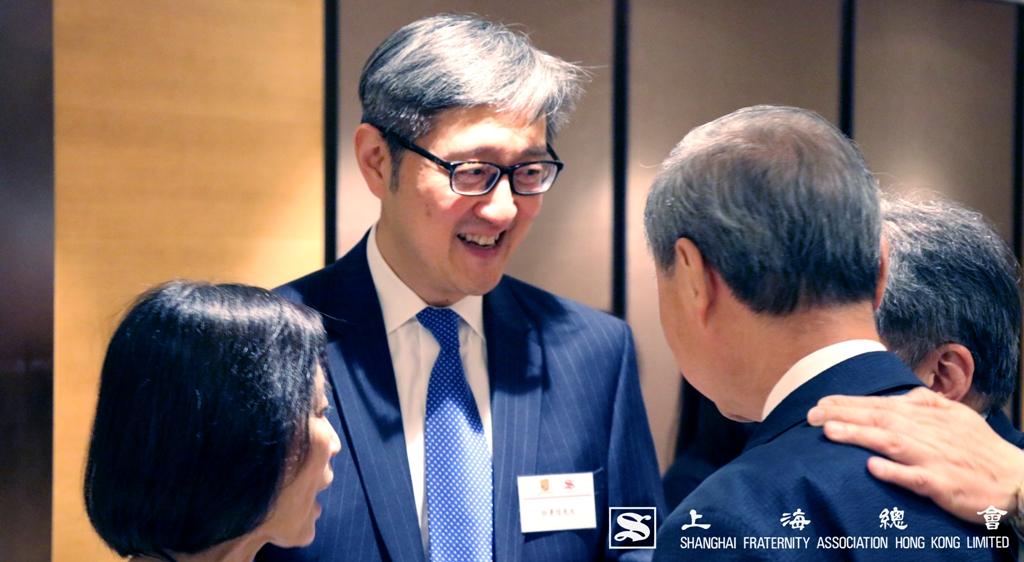 上海總會理事拜會中文大學的嘉賓