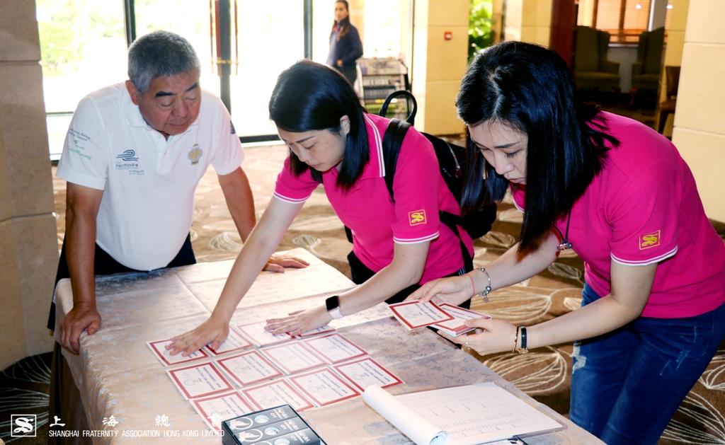 積分卡由上海會幹事們悉心準備。