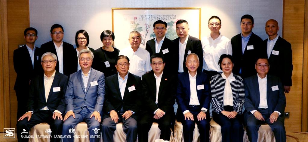 上海總會一眾理事同仁熱情款代各位上海市委來賓