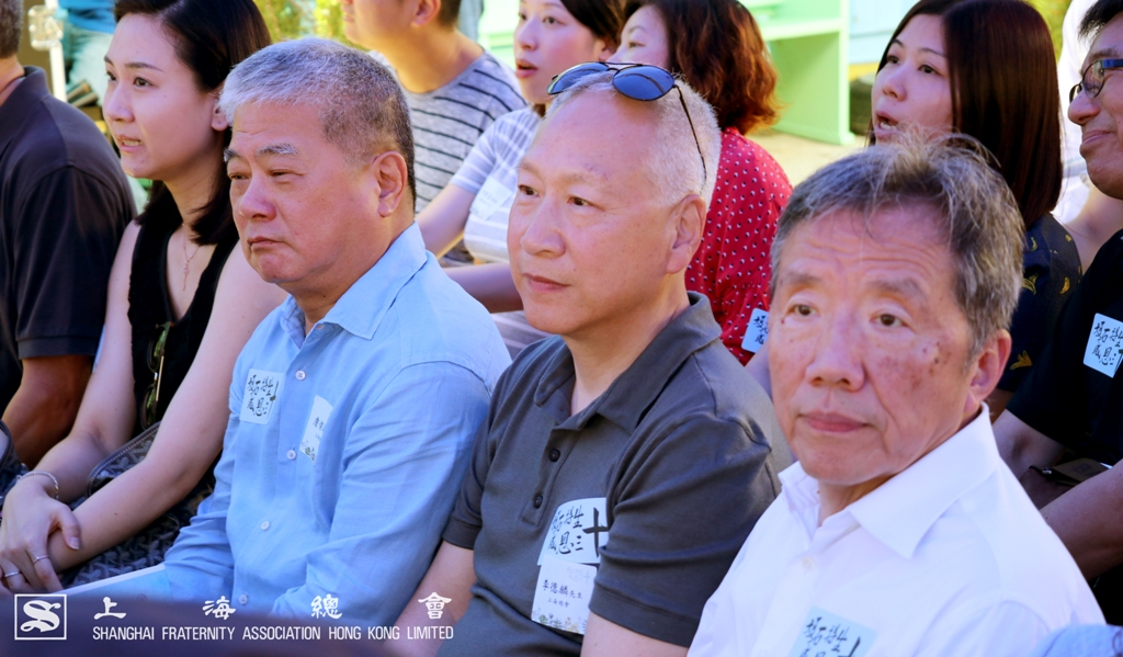 李理事長、范副理事長及詹常務理事認同給予年青人機會的做法