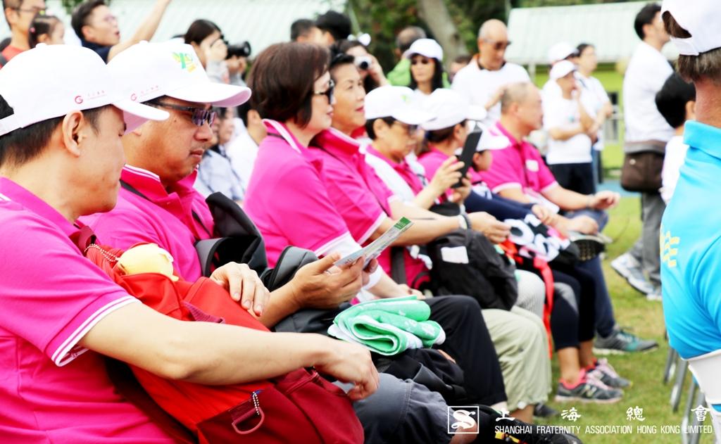 上海總會於貴賓席上座無虛席,參加人數踴躍之故。